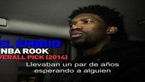 NBA Rooks: Joel Embiid on his Journey - ESP Subtitle- NBA World - NTSC