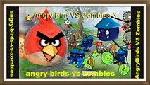 Angry - Birds - VS - Zombies - Birds and Plants Were Eaten By Green Pig ! ☺☻☺