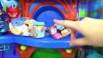 PJ MASKS Tub Bath Time Finger Paint Soap Colors, Giant Rubber Duck Superhero IRL Toy Surprise _ TUYC