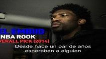 NBA Rooks: Joel Embiid on his Journey - Lat Am Subtitle- NBA World - PAL