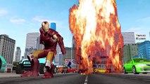 Ironman Vs Black Ironman Finger Family Nursery Rhymes for Children | Ironman Cartoons