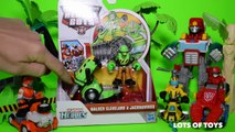 Transformers Rescue Bots Walker Cleveland & Jackhammer Animal Rescue Toy Review