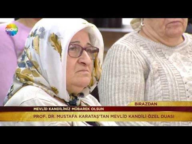 Prof. Dr. Mustafa Karataş ile Mevlid Kandili