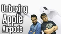 Unboxing Apple Airpods