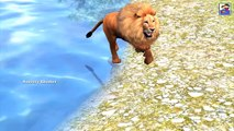 Funny Animated Short Movie || Funny Story Gorilla Steals Lion Food || 3D Short Movies For Kids