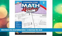 PDF [DOWNLOAD] Carson Dellosa Common Core 4 Today Workbook, Math, Grade 2, 96 Pages (CDP104591)
