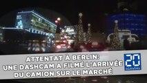 Attentat de Berlin: Une caméra embarquée a capturé l'arrivée du camion