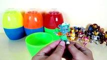 Surprise eggs superheroes | surprise toys Paw patrol | Pokemon toys eggs | Doraemon | minions toys