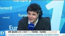 """Thomas Sotto : """"je suis en train d'écrire une chanson pour Michel Sardou"""""""