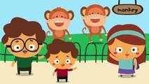 Zoo Zoo Whos In The Zoo Song for Kids | Zoo Animals Songs for children | Going To The Zoo