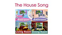 The House Song CLIP - House Words in English, Teach Kids English, Learn English, Baby English