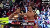 Santino Marella & Vladimir Kozlov Vs. Jimmy & Jey Usos - WWE Monday Night RAW 17/01/2011