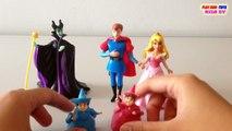 Disney Story Set Flora, Fauna, Sleeping Beauty, Prince