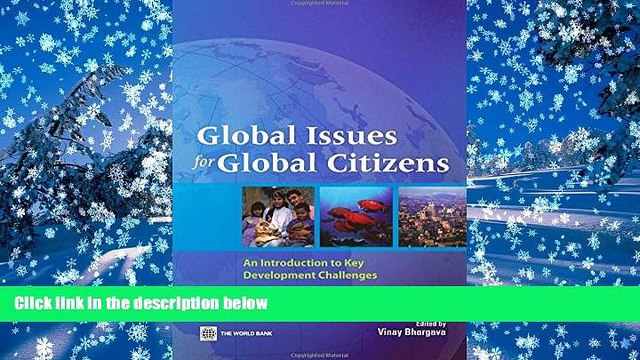 PDF [DOWNLOAD] Global Issues for Global Citizens: An Introduction to Key Development Challenges