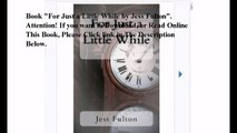Download For Just a Little While ebook PDF
