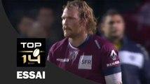 TOP 14 - Essai Luke BRAID (UBB) – Bordeaux-Bègles-Pau – J14 – Saison 2016-2017
