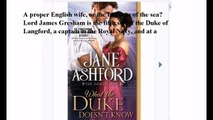 Download What the Duke Doesn't Know (The Duke's Sons Book 2) ebook PDF