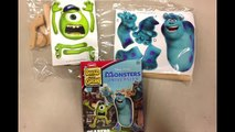 Monster University Lowes Build and Grow Scarers Mike Wazowski James P Sullivan Sulley Action