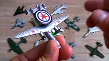 Learning Planes and Fighter Jet for Kids - Disney Planes and Military Planes Toys Collection