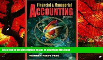 PDF [FREE] DOWNLOAD  Financial and Managerial Accounting (Financial   Managerial Accounting) READ