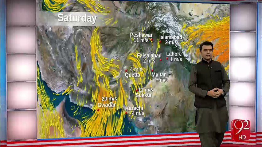 Weather Today - 24-12-2016 - 92NewsHD