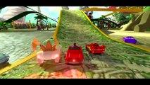 [ Lightning McQueen ] HULK SMASH Mcqueen Cars Playtime BIG Water Slide Spiderman & POOL Playtime Toy