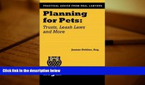 Online Joanne Dekker Esq. Planning for Pets: Trusts, Leash Laws and More (Real Life Legal)