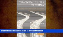FREE [DOWNLOAD]  Changing Lanes in China: Foreign Direct Investment, Local Governments, and Auto