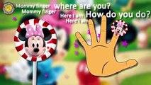 Mickey Mouse Lollipop Finger Family. Mickey Mouse Nursery Rhymes Lyrics