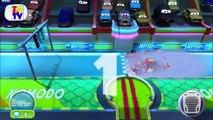 Disney Cars 2 Lightning McQueen vs Tow Mater | Cars Fast as Lightning