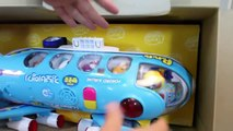 Pororo Plane Toys Jumbo Jet Flying Airplane Toy Suprise for Kids Children - Nursery Rhymes Songs