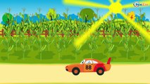 Мультфильмы про Машинки Трактор Павлик Красный Бульдозер в работе Сборник 1 час Все серии подряд
