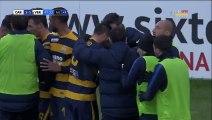 1-1 Giampaolo Pazzini Goal Italy  Serie B - 24.12.2016 Carpi FC 1-1 Hellas Verona