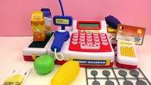 caisse enregistreuse jouet - Caisse de supermarché avec le scanner - Funny Shopper la caisse