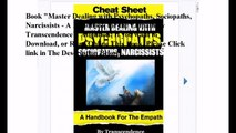 Download Master Dealing with Psychopaths, Sociopaths, Narcissists - A Handbook for the Empath ebook PDF