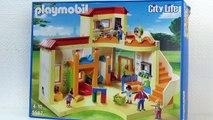 Jardin denfants Playmobil – Démo jardin denfant soleil qui brille (playmobil francais)