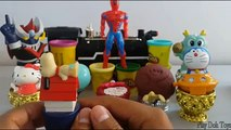 Spiderman Play-Doh Surprise Eggs Collection With Play Doh Surprise Egg Surprise Ball Surprise Toys