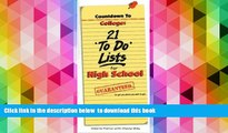 READ book  Countdown to College: 21 To-Do Lists for High School: Step-By-Step Strategies for 9th,