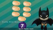 One Potato Two Potato Cartoon Rhyme For Kids   3D Animation Rhymes   Best Cartoon Nursery Rhymes