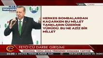 Cumhurbaşkanı Erdoğan: Eğer sende zerre kadar yürek varsa...