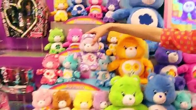 NEW new TOYS Barbie Puppy Surprise Care Bears Doc McStuffins Just Play Toy Fair DisneyCarToys