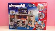 Playmobil Gefängnis - Der Knast der Playmobil Polizei aus der Serie City Action!