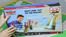 Disney Planes Fire & Rescue Action Shifters Piston Peak Air Attack Track Set Plane Toys
