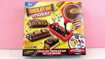 Chocolate Bar Maker | Créer des barres chocolatées et les tester | Chocolat