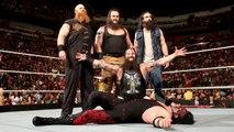 WWE Brock Lesnar & Rock vs Wyatt Family OMG 4 vs 2 Latest Killing Full Match 2016