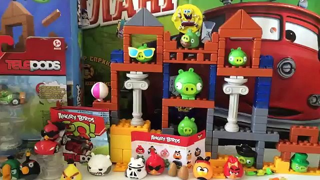 Angry Birds GO! Telepods ANGRY BIRDS Kinder Surprise Angry Birds