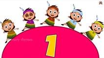 Ten Little Indians Nursery Rhyme | Popular Number Nursery Rhymes For Children by Nursery Rhymes