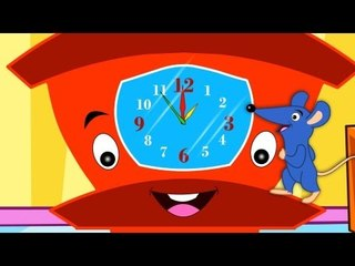 Hickory Dickory Dock | Nursery Rhymes And Baby Songs