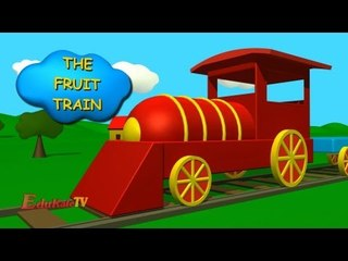 The Fruit Train | Learn Fruits with Train - for Children, Kids, Babies