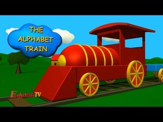 The Alphabet train | Learning Letter | ABC Train for Children and Babies